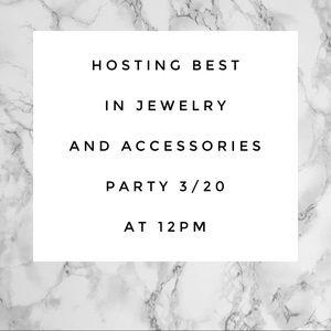 Accessories - I'M HOSTING A PARTY!!!